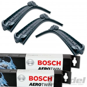 BOSCH AEROTWIN SCHEIBENWISCHER VORNE + HINTEN VW PASSAT 3G5 B8 Variant + T-ROC