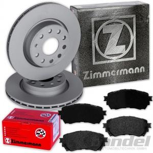 ZIMMERMANN BREMSSCHEIBEN 297mm + BELÄGE VORNE MAZDA 6 auch Kombi GJ GL