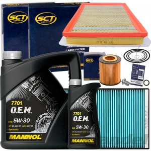 FILTERSET SATZ+MANNOL 5W30 ÖL 1.9 CDTI+16V OPEL ASTRA H+GTC 100+120+150 PS