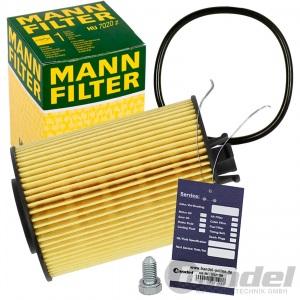 MANN ÖLFILTER FILTER HU7020z VW T6 GOLF 7 PASSAT AUDI A1 A3 A4 A5 A6 Q3 Q5 TT