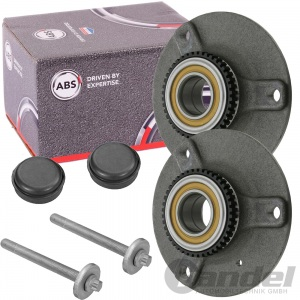 2x ABS RADNABE VORDERACHSE SMART CABRIO CITY-COUPE FORTWO ROADSTER 450/451/452