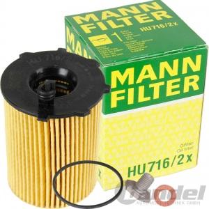 MANN ÖLFILTER FORD TRANSIT PEUGEOT PARTNER MONDEO C-MAX FOCUS FIESTA  1.4 & 1.6