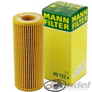 MANN ÖLFILTER+SCHRAUBE BMW 1er E87 3er E46 E90 5er E60 X3 E83