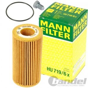 MANN ÖLFILTER VW GOLF V+VI+PASSAT 3C+TOURAN 1T+ AUDI A3 8P+A4 B7+A6 4F+TT 8J