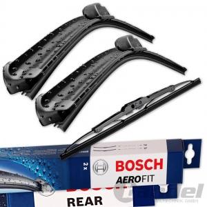 BOSCH AEROFIT SCHEIBENWISCHER VORNE + HINTEN VW GOLF 4 + BORA Variant / Kombi