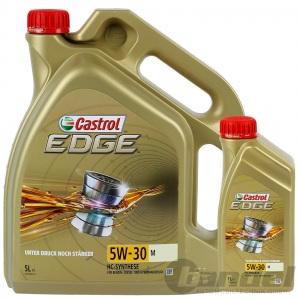 6L CASTROL EDGE 5W-30 M BMW LONGLIFE 04 MB 229.31 229.51 229.52 MOTORÖL 5+1Liter