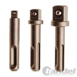 BOHRHAMMER-SET SDS-BOHRER 5/6/8/10mm BIT-HALTER NUSS-ADAPTER BACKEN-BOHRFUTTER Pic:2
