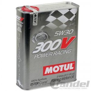 8L MOTUL 300V POWER RACING 5W30 104241 ÖL MOTORÖL SYNTHETISCH RENNSPORTÖL Pic:1