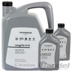 7L VW ORIGINAL ÖL 0W30 LONGLIFE 3 III GS55545M4EUR LONGLIFE III FE 504
