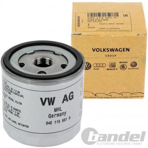 ORIGINAL VW ÖLFILTER 04E115561H+LONGLIFE III 0W30 GOLF 6 7 POLO PASSAT TOURAN UP Pic:1