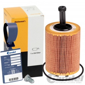 CONTINENTAL ÖLFILTER FILTER SDI TDI VW T5 TOURAN TIGUAN POLO PASSAT GOLF 5 6 A3