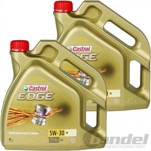 8L CASTROL EDGE 5W-30 M BMW LONGLIFE 04 MB 229.31 229.51 229.52 MOTORÖL 2x4Liter