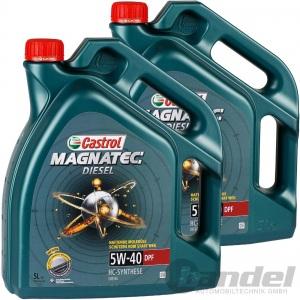 2x5L CASTROL MAGNATEC DIESEL 5W-40 DPF BMW LL-04 MB 229.31 OPEL dexos-2 VW 50501