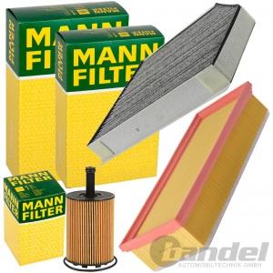 MANN INSPEKTONSPAKET FILTERSET 2.0 TDI FÜR AUDI A4 B8 A5 8T Q5 8R 120-170 PS