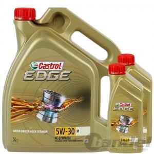 7L CASTROL EDGE 5W-30 M BMW LONGLIFE 04 MB 229.31 229.51 229.52 MOTORÖL 5+1Liter
