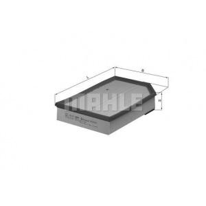 MAHLE / KNECHT Luftfilter LX 868 ( LX868 )
