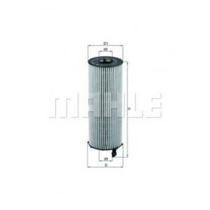 MAHLE / KNECHT Ölfilter OX 196/1D ( OX196/1D )