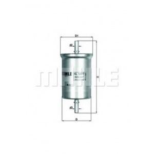 MAHLE / KNECHT Kraftstofffilter KL 165/1 ( KL165/1 )