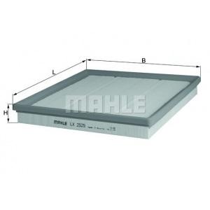 MAHLE / KNECHT Luftfilter LX 2525 ( LX2525 )