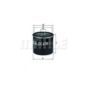 MAHLE / KNECHT Ölfilter DACIA LOGAN I+II SANDERO I+II für NISSAN KUBISTAR