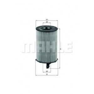 MAHLE / KNECHT Ölfilter AUDI A4 (B8) A5 (8T3+8F7+8TA) A6 (C7) A7 SPORTBACK (4GA)