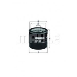 MAHLE / KNECHT Ölfilter OPEL ASCONA C ASTRA F CC +G CC CALIBRA A CORSA A CC