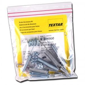 TEXTAR MONTAGE-SATZ für  Feststellbremsbacken HINTEN   97012500