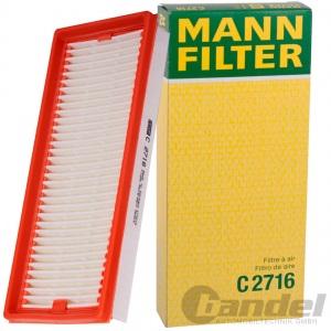 MANN MOTOR-LUFTFILTER 0.8 CDi+ 1.0+Turbo+ BRABUS SMART (451) FORTWO Cabrio Coupe