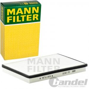 MANN INNENRAUMLUFT FILTER für VW PASSAT/ VARIANT 1.6/1.9/ 2.0/2.8  TDI