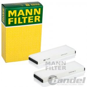 MANN INNENRAUMLUFT FILTER CU3023-2 für AUDI A6 AVANT ALLROAD VW XL1