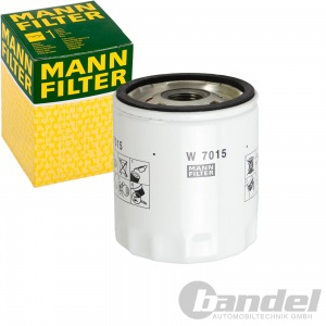 MANN ÖLFILTER FORD B/C-MAX FIESTA FOCUS JAGUAR XE/F/J VOLVO C30 S4/6/80 V5/6/70