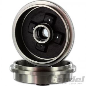 BREMSTROMMEL SATZ HINTEN 180,0mm RENAULT 11 19 TWINGO CLIO DACIA SANDERO LOGAN