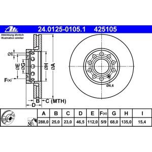 SRL Bremsscheibe Vorne für AUDI A4 B5 8D B6 8E B7 8E A8 4D D2 SEAT EXEO EXEO