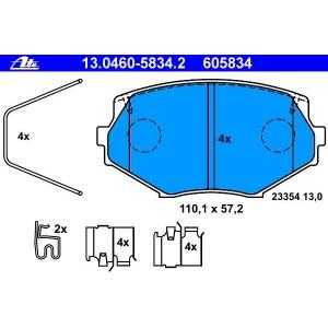 ATE Bremsbeläge vorne Mazda Mx-5