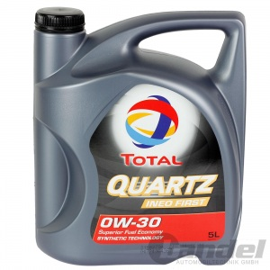 [7,96€/L] 5L TOTAL QUARTZ INEO FIRST 0W30 ACEA C2 PSA B71 2312 B71 2302