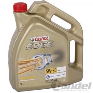 [8,78€/L] CASTROL EDGE TITANIUM FST 5W-30 LL 5 Liter Motoröl Öl VW 504.00/507.00