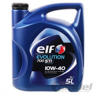 [4,38€/L] 5L ELF EVOLUTION 10W40 700 STI MOTORÖL RENAULT VW MERCEDES A3/B4