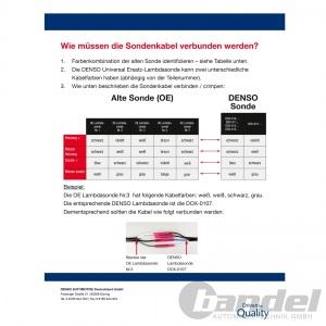 DENSO UNIVERSAL LAMBDASONDE AUDI A4 B5+B6+B7 A6 C5+C6  DACIA FIAT FORD CITROEN Pic:3