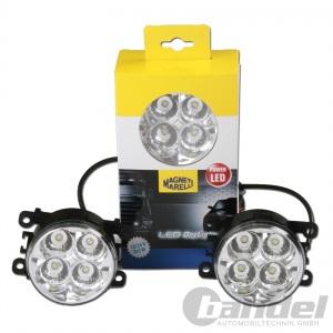 MAGNETI MARELLI TAGFAHRLICHT RUND 90mm LED-DayLine DayLight TFL DLR 12V/24V
