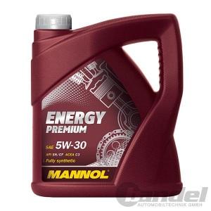 [4,50€/L] 5W-30 5 Liter MANNOL ENERGY PREMIUM MOTORÖL MB 229.51 BMW LONGLIFE-04