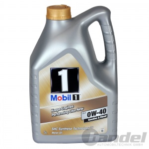 5L MOBIL 1 0W40 MOTORÖL ÖL SHC SYNTHESE TECHNOLOGY 153678