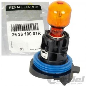 ORIGINAL RENAULT GLÜHLAMPE HP24W 12V 24W GELB ORANGE BLINKER LAMPE 262610001R