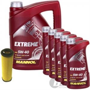 ÖLFILTER SCT SH4030P + 10 Liter Motoröl MANNOL EXTREME SAE 5W-40 SN/CF MERCEDES