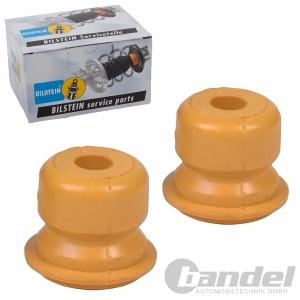 2x Staubschutzkappe mit 2x Anschlaggummi für Hinten Durchmesser 12mm
