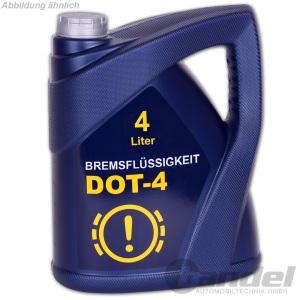 [3,98€/L] 4,0 Liter DOT 4 BREMSFLÜSSIGKEIT DOT4 / SAE J 1703 BREMS-FLÜSSIGKEIT