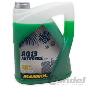 [2,80€/L] 5 Liter MANNOL AG13 GRÜN bis -40°C KÜHLERFROSTSCHUTZ KÜHLMITTEL