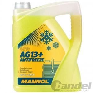 5 LITER MANNOL AG13+ GELB bis -40°C KÜHLERFROSTSCHUTZ KÜHLMITTEL