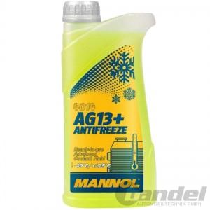 1 LITER MANNOL AG13+ GELB bis -40°C KÜHLERFROSTSCHUTZ KÜHLMITTEL