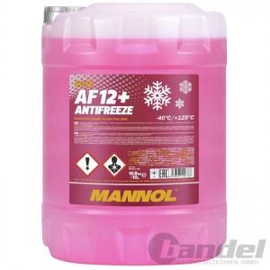 10 LITER MANNOL AF12+G12+ ROSA/ROT bis -40°C KÜHLERFROSTSCHUTZ VW AUDI