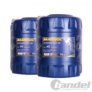 [1,95€/L] 2x10 Liter Kanister HLP 46 Hydrauliköl/ Hydraulikflüssigkeit DIN 51524
